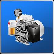 Oil-less Rocking Piston Type Vacuum Pump (V Series)