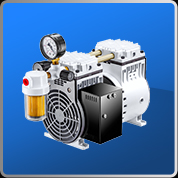 Oil-less Rocking Piston Type Vacuum Pump (H Series)